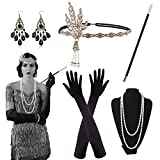 Alintor 20er Jahre Accessoires, 1920s Federboa Kostüm Damen...