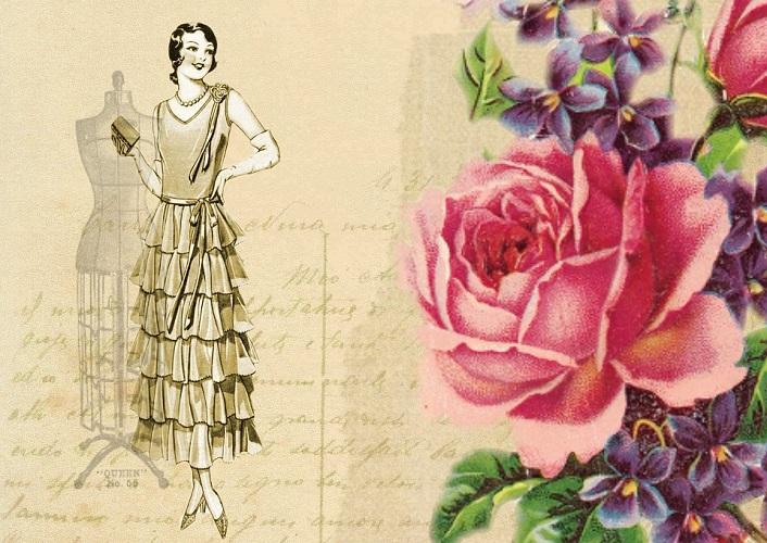 20er Jahre Kleid Damen