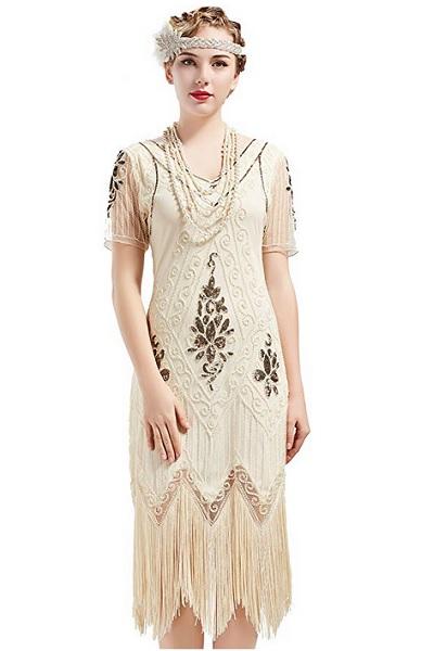 Charleston Kleid der 20er Jahre Damen