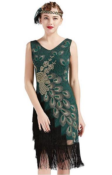Flapper Kleid der 20er Jahre Mode für Damen